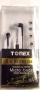 iPod & MP3 Stereo Earphones TEP-X1-BK